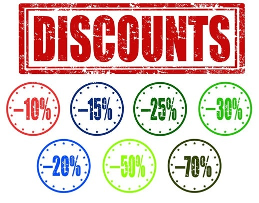 Top Discounts to save you money!